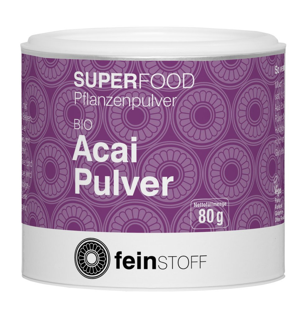 Superfood Acai-Pulver (80g)