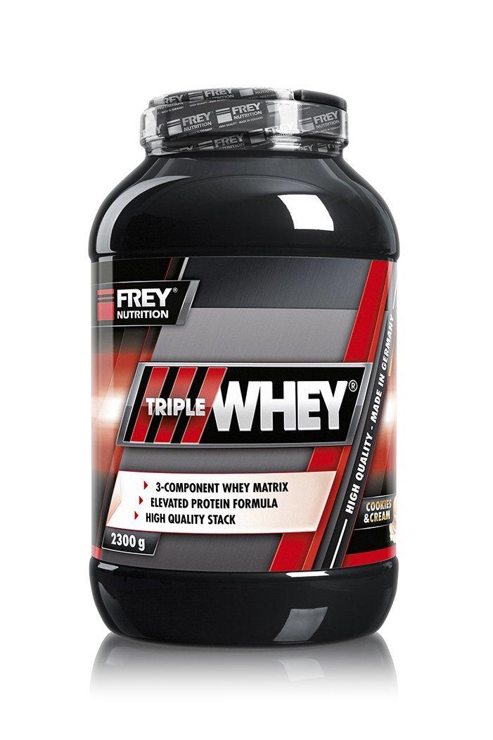(26,81€/1kg) FREY Nutrition Triple (2300g) Whey (2300g) Triple f73937