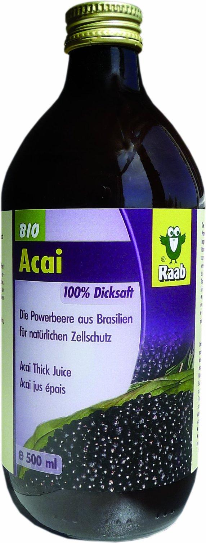 Acai-Dicksaft (500ml)