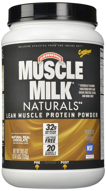 Muscle Milk Natural - 1125g - Schokolade