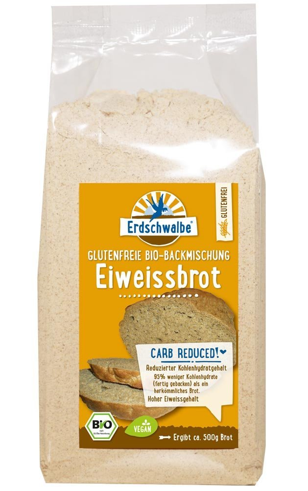 Eiweiss-Brot Low Carb Brotbackmischung (250g)