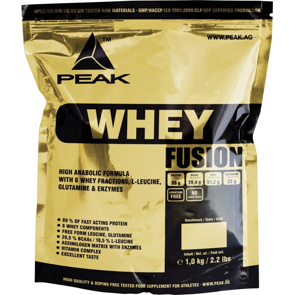 Whey Fusion - 1000g - Cocos